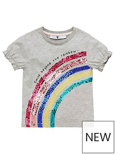 v-by-very-girls-rainbow-t-shirt-grey-marl