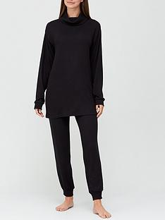 v-by-very-roll-neck-loungenbspset-black