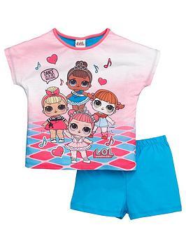 lol-surprise-girls-dance-shortie-pyjamas-multi