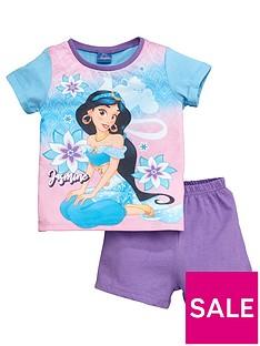 disney-aladdin-girlsnbspjasmine-shortie-pyjamas-purple