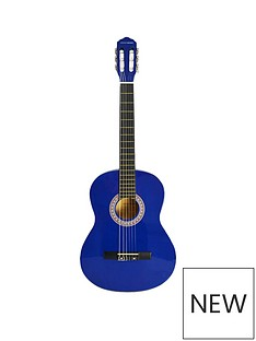 rocket-rocket-full-size-classical-spanish-guitar-blue