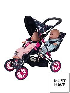 unicorn-twin-stroller-bag