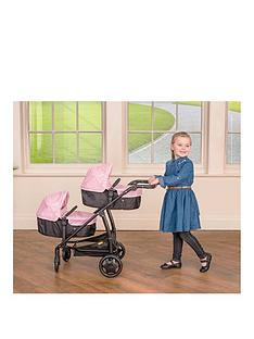 joie-junior-evalite-twin-pushchair