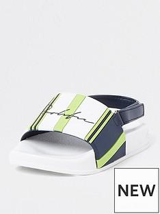 river-island-mini-boys-prolific-stripe-sliders-white