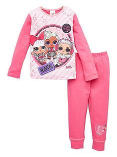 lol-surprise-girls-lol-surprise-rock-long-sleeve-pjs-pink