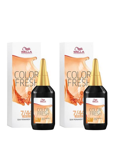 wella-wella-professionals-color-fresh-semi-permanent-colour-medium-intense-red-blonde-75ml-duo-pack