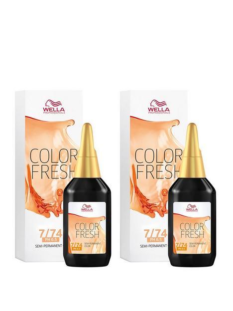 wella-wella-professionals-color-fresh-semi-permanent-colour-medium-brunette-red-blonde-75ml-duo-pack