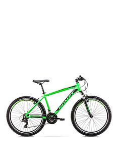 romet-romet-rambler-r61-alloy-hardtail-mountain-bike-14-frame-blackgreen