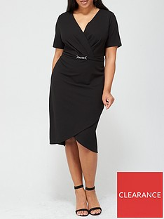v-by-very-curve-wrap-stretch-pencil-dress-black