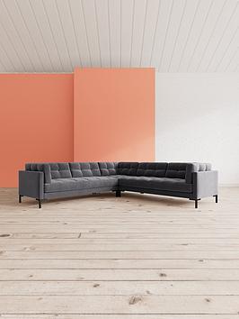Swoon Landau Fabric 5 Seater Corner Sofa