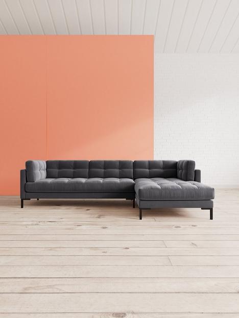 swoon-landau-fabric-right-hand-corner-sofa
