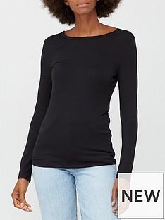 v-by-very-long-sleeve-crew-neck-t-shirt-black