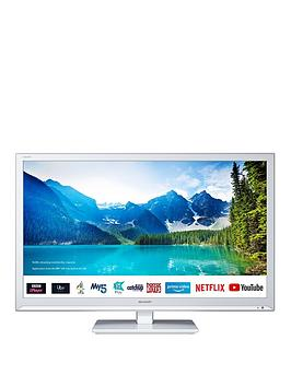 Sharp 24Bc0Kw 24 Inch, Hd Ready, Led, Smart Tv With Freeview - White