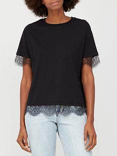 v-by-very-lace-sleeve-amp-hem-insert-t-shirt-black