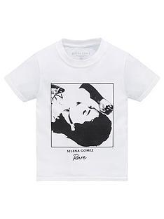 selena-gomez-unisexnbspband-t-shirt-white