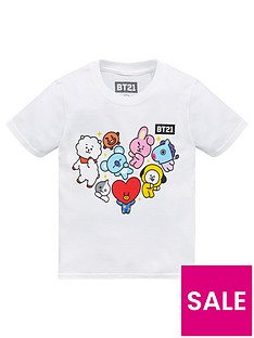 bt21-unisexnbspt-shirt-white