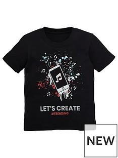 v-by-very-boys-splatter-im-trending-t-shirt-black