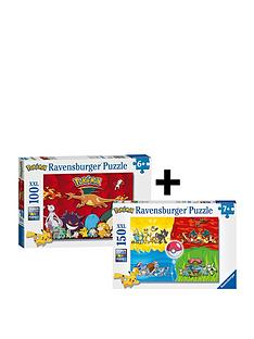 ravensburger-pokemontwin-pack-puzzle