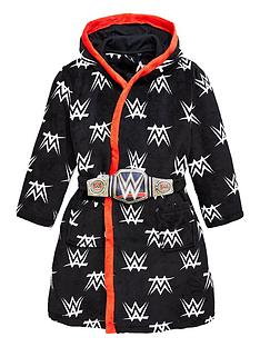wwe-boys-dressing-gown-with-removable-belt-black