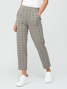 v-by-very-jacquard-tapered-trousers-check