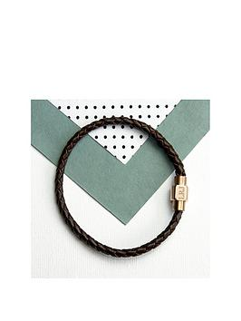 treat-republic-personalised-mens-woven-leather-bracelet-with-gold-clasp