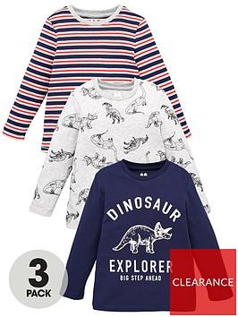 v-by-very-boys-3-pack-long-sleeve-dinosaur-t-shirts-multi