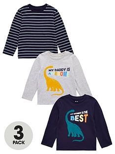 v-by-very-daddymummy-3-pack-t-shirts-multi