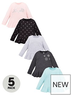 v-by-very-girls-5-pack-long-sleeve-frill-tops-multi