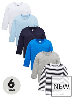 v-by-very-boys-6-pack-long-sleeve-t-shirt-multi