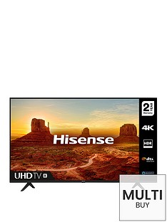 Hisense H65A7100FTUK 65 Inch 4k Ultra HD, HDR, Freeview Play Smart TV Best Price, Cheapest Prices