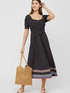 monsoon-ashleigh-print-shirred-dress-navy