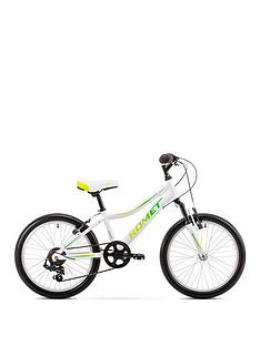 romet-rambler-20-inch-girls-alloy-mtb-front-suspension--nbspwhitegreen