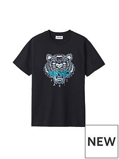kenzo-classic-loose-fitnbsptiger-t-shirt-navy