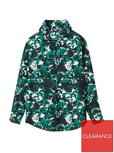 kenzo-aquarelle-cowl-collar-top-green