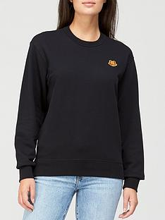 kenzo-classic-fit-tiger-crest-sweatshirt-black