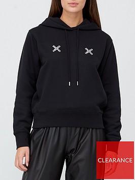 kenzo-sport-classic-logo-hoodie-black