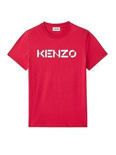 kenzo-classic-fitnbsplogo-t-shirt-red