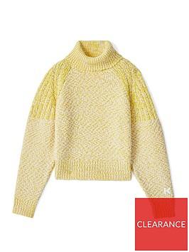 kenzo-slub-knit-jumper-lemon
