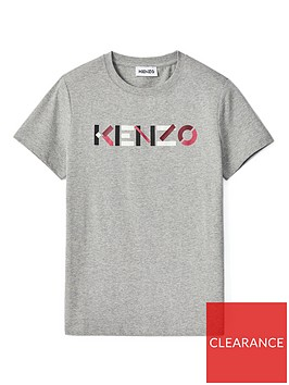 kenzo-classicnbsplogo-t-shirt-grey