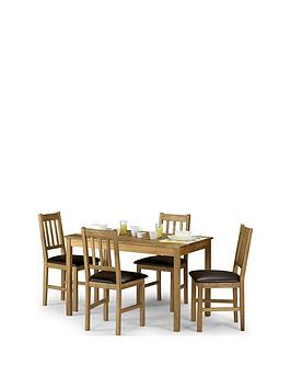 julian-bowen-coxmoor-118-cm-solid-oaknbspdining-table-4-pewter-coxmoor-chairs