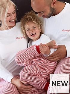 v-by-very-girls-family-christmas-elf-stripe-pj-set-red