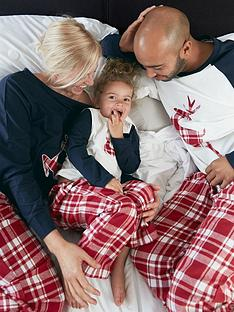 very-man-mens-family-christmas-check-reindeer-pj-set