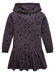 v-by-very-girls-dropwaist-star-sweat-dress-black