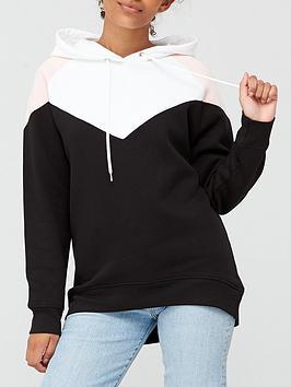 v-by-very-colour-block-chevron-hoodie