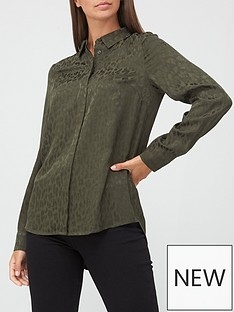 v-by-very-animal-jacquard-shirt-olive