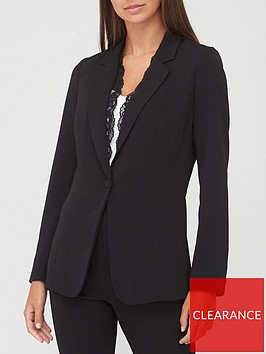 v-by-very-lace-trim-blazer-black