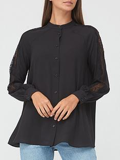 v-by-very-lace-mix-blouse-black