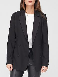 v-by-very-satin-lapel-double-breasted-blazer-black
