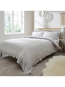 everyday-collection-ruffle-edge-duvet-cover-set-silver