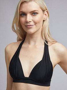 dorothy-perkins-built-up-bikini-top-black